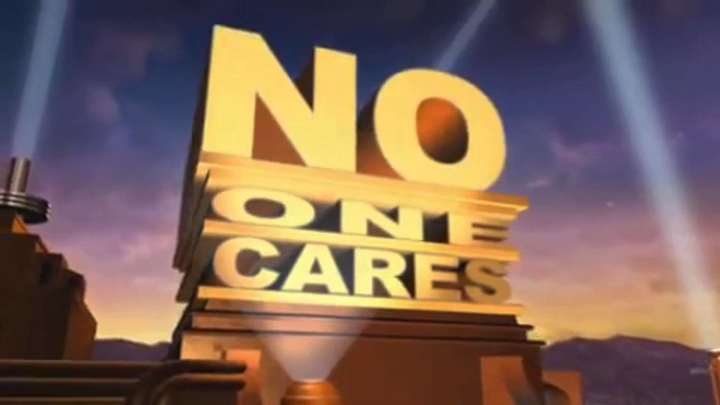 NO ONE CARES