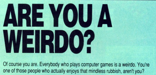 are you a weirdo
