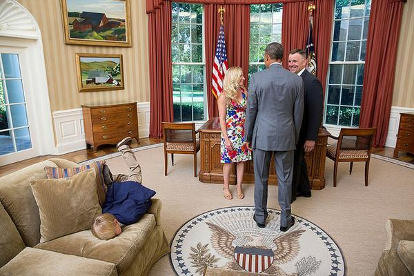 kid dgaf about obama