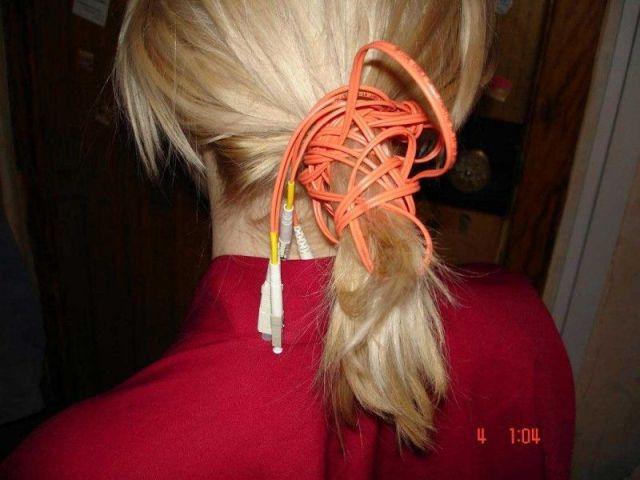 wire hair tie
