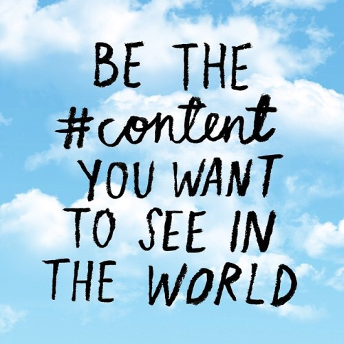content in the world
