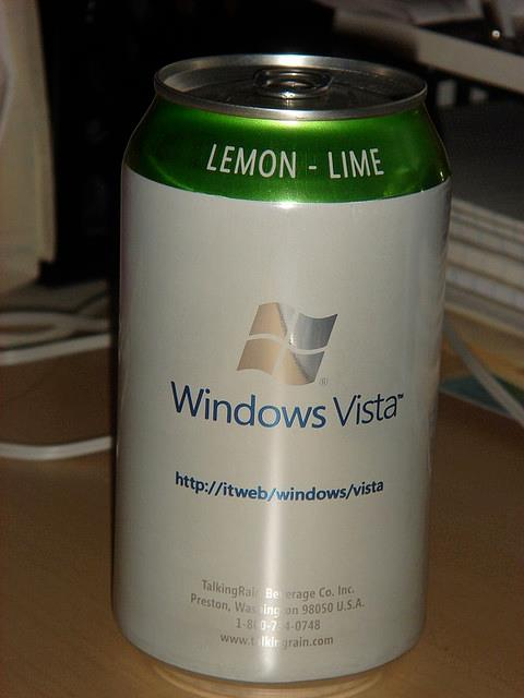 windows vista soda