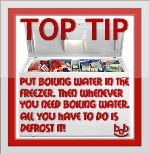 water boil defrost