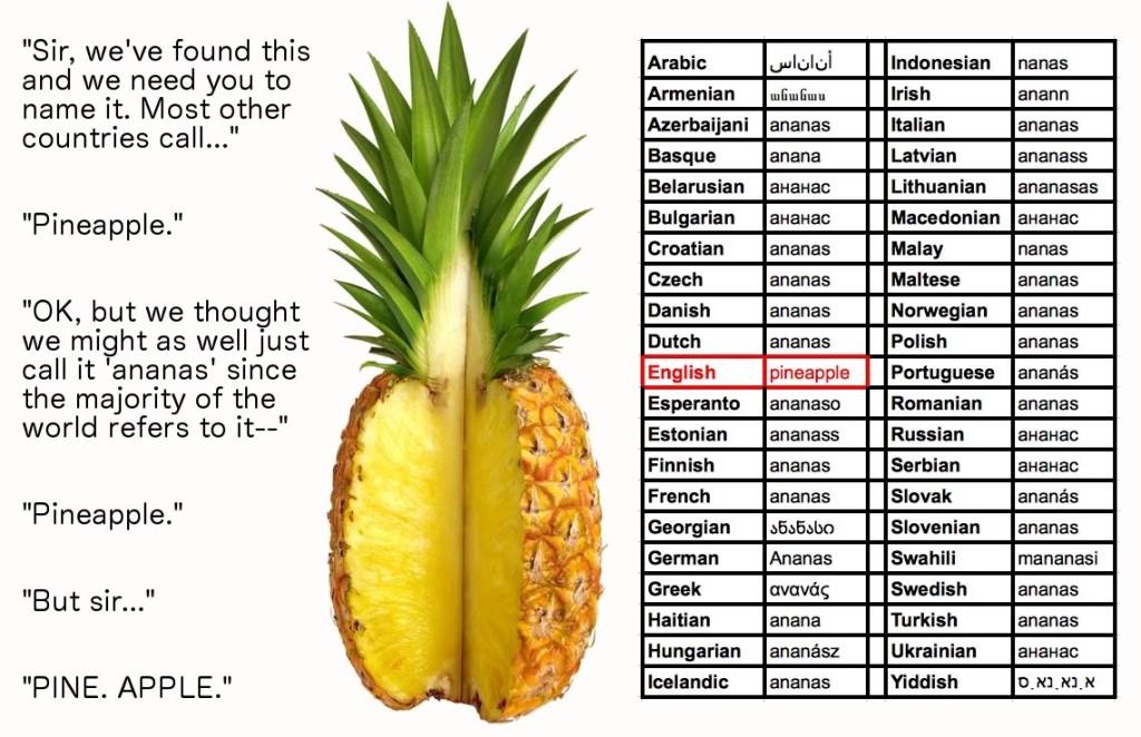 pineapple dgaf